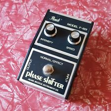 Pearl F-601 Phase Shifter Vintage 70s MIJ Phaser Effect Pedal