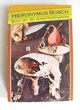 Postkartenbuch Hieronymus Bosch mit 30 Kunstpostkarten PK 027