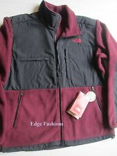 New Men's Malbec Red The North Face Denali Fleece Winter Fall Jacket Coat Small