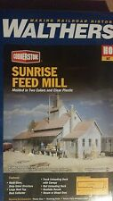 3061 Walthers Cornerstone Sunrise Feed Mill - Kit HO Scale