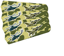 """New KIDS FREEDOM CAMO JETS 42"""" Ceiling Fan BLADES ONLY"""