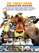 Hit Songs Animated Movies Learn to Play POP PIANO Guitar PVG Music Book