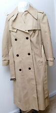 Etienne Aigner Classic Double Breasted Women's 12 Trench Coat