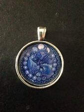 My Little Pony Friendship Is Magic Stained Glass Necklace Keyring Princess Luna