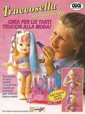 X7946 Truccosella fammi bella - GIG - Pubblicità 1994 - Vintage advertising