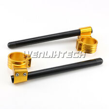 50MM Motorcycle High Clip Ons On Handlebar For Suzuki GSXR1000 2001-2011 HBG