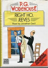 WODEHOUSE RIGHT HO JEEVES JONATHAN CECIL AUDIO BOOK UNABRIDGED 6 CASSETTES
