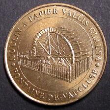 MONNAIE DE PARIS - MOULIN A PAPIER VALLIS CLAUSA - FONTAINE DE VAUCLUSE - 2002