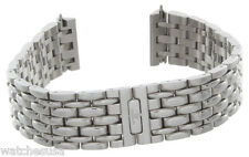 Jaeger LeCoultre JLC Reverso 18mm Stainless Steel Womens Watch Bracelet Band