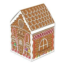 CHRISTMAS GINGERBREAD HOUSE WILLY WONKA CANDY BIRTHDAY PARTY TABLE CENTREPIECE!