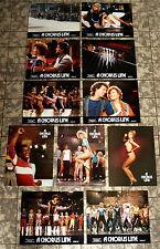A CHORUS LINE - 11 Aushangfotos -11  German Lobby Cards TANZFILM DANCE 1985
