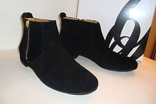 Nine West Womens NWB Perfect Black2 Suede Leather Boots Shoes 5 MED NEW