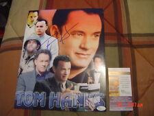 Forrest Gump Toy Story Big Cast Away Tom Hanks signed 11X14 Collage Jsa #J00452