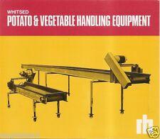 Farm Equipment Brochure - Whitsed - Potato Vegetable Handling (F2163)