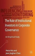The Role of Institutional Investors in Corporate Governance : An Empirical...