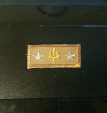 Seabadge Underway PARTISIPENT Award Sea Scout Private Issue Knot Non BSA Tan