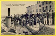 CPA FRANCE ILE de RÉ St MARTIN Embarquement des FORÇATS pour la GUYANE Convicts
