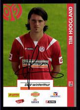 Tim Hoogland Autogrammkarte FSV Mainz 05 2007-08 Original + A 122001