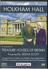 HOLKHAM HALL DVD TREASURE HOUSES OF BRITAIN PRESENTED BY SELINA SCOTT