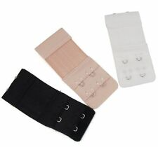 Accessoire :  3 rallonges extensions soutien gorge 2 crochets - 3 x 8/10 cm