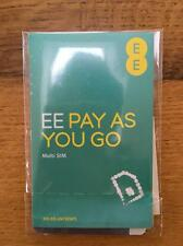Orange/EE Pay As You Go  Trio (Nano/Micro/Standard) buy 1 get 1 free