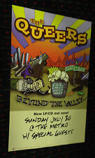 the QUEERS Beyond the Valley 12x18 promo poster PUNK Hopeless