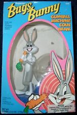 Bugs Bunny Gumball Machine Coin Bank, 1989, MIB!  Warner Brothers