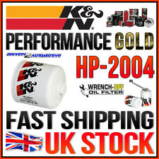 K&N HP-2004 PERFORMANCE GOLD OIL FILTER 2001 CHRYSLER GRAND VOYAGER 3.3L V6 F/I
