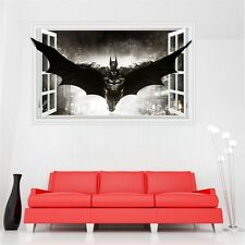 Batman Removable Wall Stickers 3D Windows Art Wall Decal Living Room Home Decor