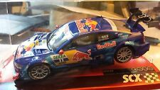 New SCX analog audi A5 DTM Red Bull EKSTROM