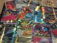 Pokemon TCG : 10 CARD LOT RARE, COM/UNC & GUARANTEED HOLO, EX, MEGA OR FULL ART