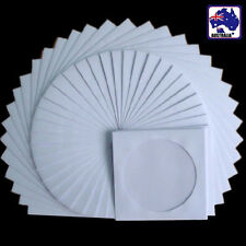 90pcs CD Disc DVD Envelope Cases Paper Bag Sleeves Clear Window EDISC1192x90