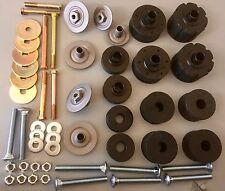 75-80 FORD F100 PARTS RUBBER BODY CAB MOUNT KIT WITH BOLTS, SUITS F100 F250 F350