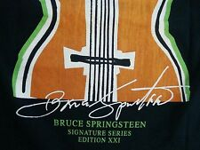 BRUCE SPRINGSTEEN Signature Hard Rock Cafe Dallas T Shirt Men's Size S