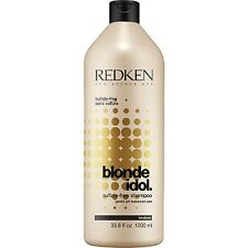 Redken Blonde Idol Sulfate free Shampoo 33.8 oz / 1000 ml