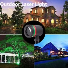 Natale Star Shower laser Light rosso e verde Xmas Doccia Light Show Strume Casa