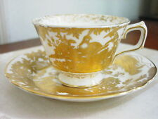 Royal Crown Derby GOLD AVES Cup and Saucer - NICE!