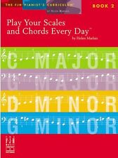 Imparare a giocare scale & Corde ogni giorno arppegios TASTIERA PIANOFORTE MUSICA BOOK 2