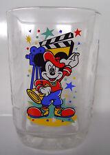 McDonald's 2000 Walt Disney World Celebration Glass-Disney Studios Mickey