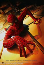 SPIDER-MAN MOVIE POSTER ORIGINAL DS Advance Version B 27x40 TOBEY MAGUIRE