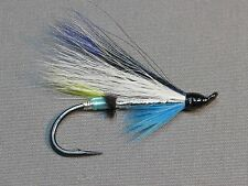 Icy Blue Atlantic Salmon Flies - 6 Fly MULTI-PACK - Sizes 4, 6, 8