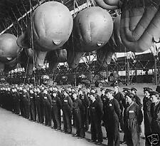 RAF Barrage Balloons England World War 2 5x5 Inch Reprint Photo Royal Air Force