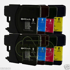 8LC61 Ink Cartridge Set for Brother MFC-490CW Printer