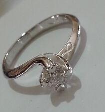 SCONTO 50% Anello Solitario Diamante Naturale Oro 18Kt - fidanzamento - Offerta