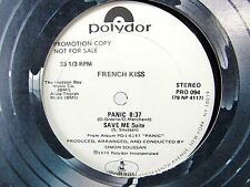 LP 12 Single - FRENCH KISS Panic Save Me Suite - PRO-094 DISCO Pop Music Song