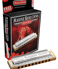 Hohner Marine Band harmonica in the key of A comes in a case Plus In a gift box