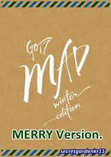 GOT7 MAD WINTER EDITION MERRY Ver. : Postcard+Booklet+Paper Frame+Sticker+Diary