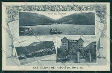 Bologna Castiglione dei Pepoli PIEGA cartolina EE7403