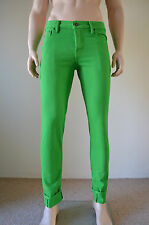 NEW Abercrombie & Fitch Skinny Vintage Jeans Green 32 x 30 RRP £78