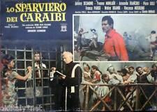fotobusta 1961 LO SPARVIERO DEI CARAIBI-Johnny Desmond-Yvone Monlaur-Francioli-2